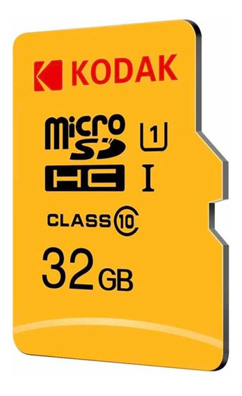 Cartão Micro Sdhc Kodak 32gb Class 10 80mb/s