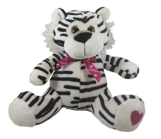 Bicho De Pelúcia Safari Tigre 30cm Presente Amor Promoção