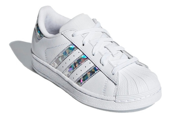 adidas Original Zapatillas Lifestyle Niña Superstar C Fkr