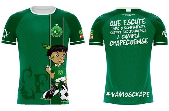 Camiseta Chapecoense Índio Verde