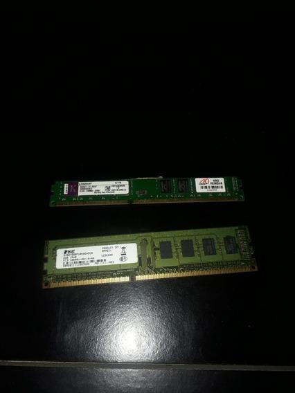 2 Memórias Ram Ddr3 (2gb Cada) Funcionando Com Garantia