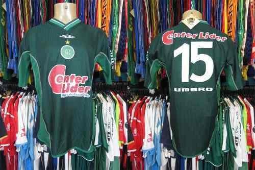 Guarani 2001 Camisa Titular Tamanho G Número 15..