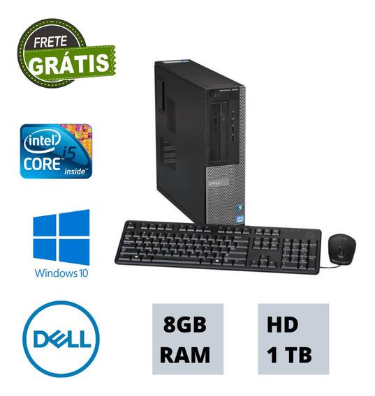 Cpu Desktop Dell 8gb Ram Hd 1tb Windows 10 Brinde !