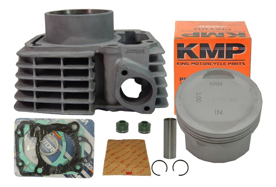Kit Cilindro Fan Bros Titan Cg 150 3mm 165cc Pistão Kmp