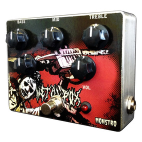 Pedal P/ Guitarra Metalbox Heavy Distortion Monstro Effects