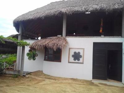 Hermosa Casa En La Playa Estacahuite.