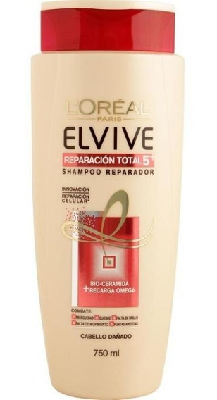 Shampoo Elvive Reparacion Total 750 Ml.