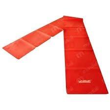 Faixa Elástica Em Látex Tensão Leve Vermelha Liveup Pilates