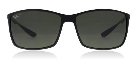 Óculos De Sol Ray-ban Rb4179 Liteforce Original Preto Fosco