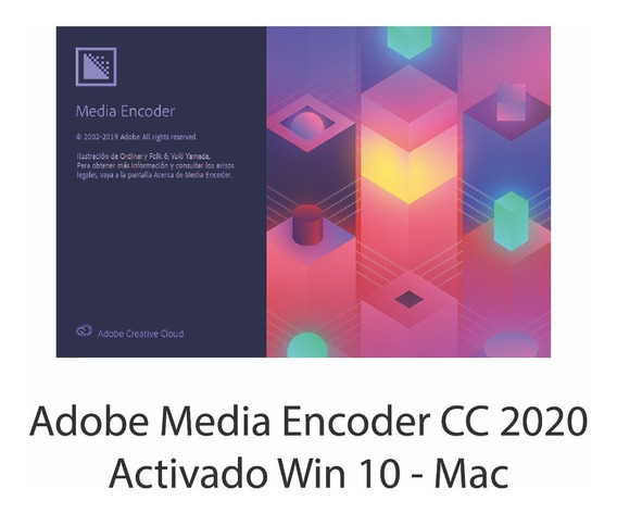 Media Encoder Cc 2020 Avticado Win 10 - Mac