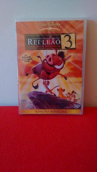 Dvd O Rei Leão 3 - Ed. Especial - Novo, Lacrado E Dublado