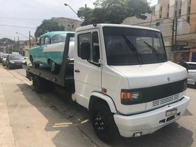 Mercedes-benz Mb 709 Guincho Plataforma Com Asa