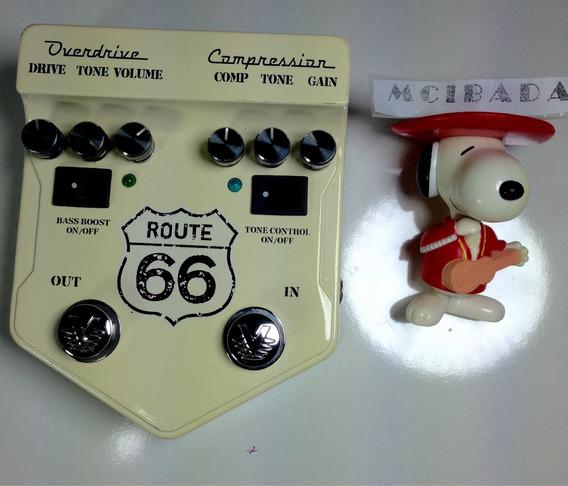 Visual Sound Route 66 Pedal Guiarra Compresor Overdrive