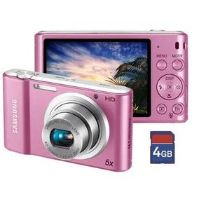 Câmera Digital Sansung St64 14.2mp Lcd 2.7 Cor: Rosa