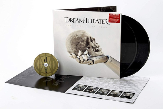 Dream Theater - Distance Over Time [2lp+cd] Importado Lacra