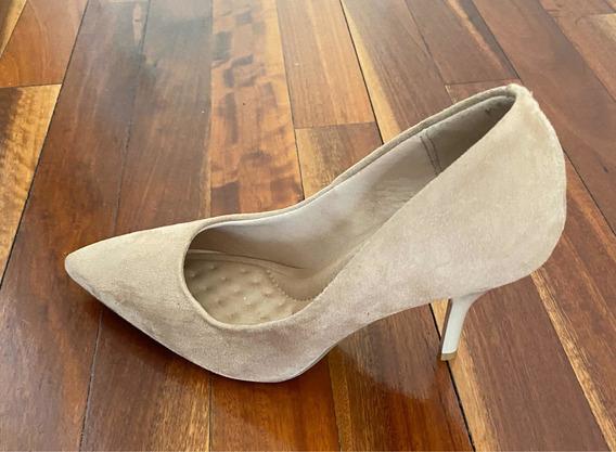 Zapato Stiletto Beira Rio Color Nude