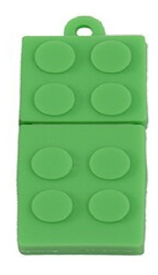 Pendrive 32 Gb Aventura Lego Verde