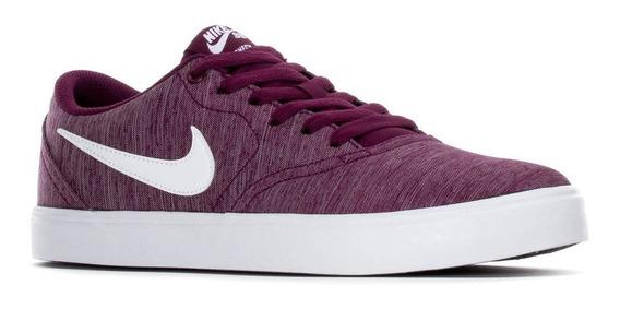 Zapatillas Nike Sb Check Violeta Original Nuevas Unisex
