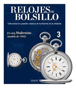 Reloj De Bolsillo Salvat Mexico #3