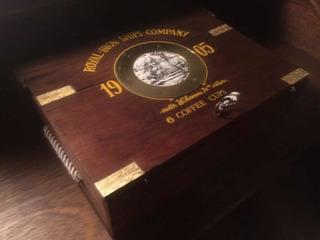 Caja Habanos Vintage Humidor Cigarros Puros Madera Excelente