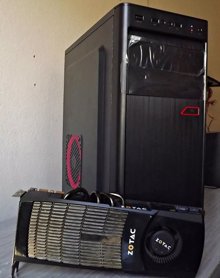 Computador Pc Gamer I3 Gtx 8gb- Witcher 3+ Gta V+ Resident 7