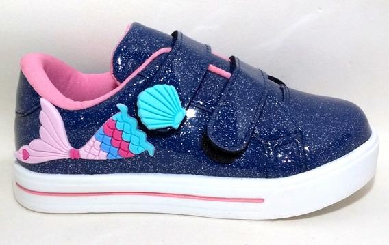 4 Tênis Menina Lol Minnie Personagens Ladybug Frozen Masha E Urso Princesas Infantil Modelos Sapatos Estampados