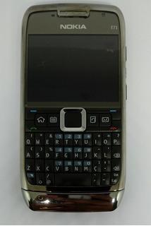 Nokia E71-3 Preto Com Defeito Sem Garantia