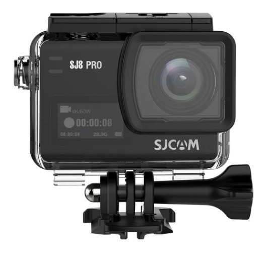 Câmera Sj8 Pro Original + 3 Baterias + Cx Stanque + Sandisk