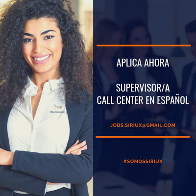 Oferta De Empleo Supervisor/a Para Call Center