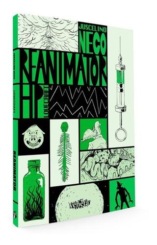 Reanimator Terror H.p. Lovecraft Quadrinho Brasileiro