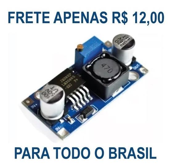 Regulador Dc Tensão 3a Step Down Lm 2596 Arduino Pic