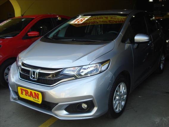Honda Fit Lx Automático Motor 1.5 2018 Prata