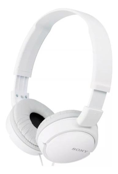 Fone Sony Preto Branco Rosa Zx110 Headphone P2 Original Profissional Celular Pc Notebook Envio Imediato