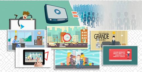 Imagem 1 de 10 de Criação De Videos, Animações 2d, Vinhetas E Institucionais.