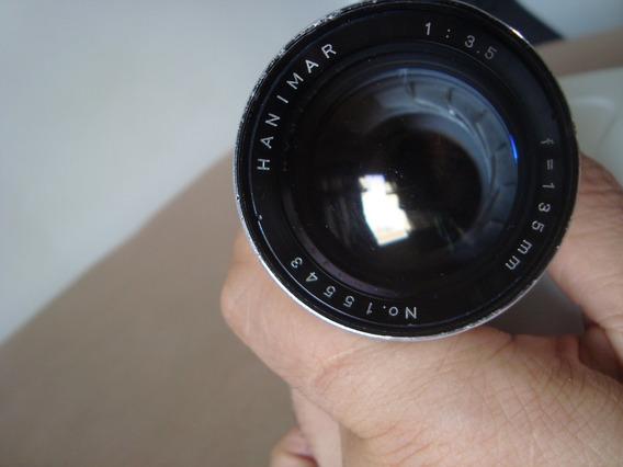 Lente Hanimar Rosca M42 135mm 3.5(japão) + Anel Para Nikon