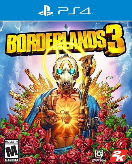 Jogo Borderlands 3 - Ps4 Mídia Física Usado