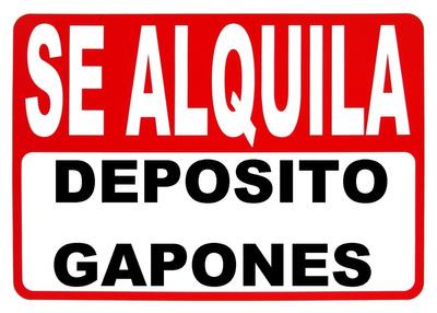 Galpon Deposito Taller Cerrado Seguridad San Rafael Mendoza
