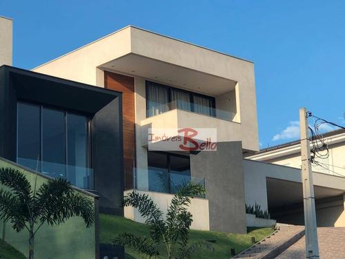 Casa Com 4 Dormitórios À Venda, 650 M² Por R$ 3.300.000,00 - Ville Chamonix - Itatiba/sp - Ca1400