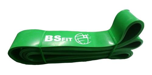 Banda Para Dominadas Power Band Verde Bsfit Fitness Sport