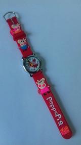 Relógio Peppa Pig - Vermelho Cod 00333