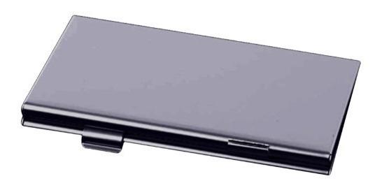 Case Aluminio Porta Cartão De Memoria Micro Sd Estojo Sd