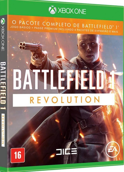 Battlefield 1 Revolution Xbox One Código 25 Dígitoss