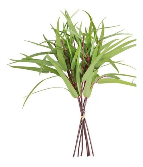Hogar Simulación Flor Verde Hoja Flores Artificiales Clavel