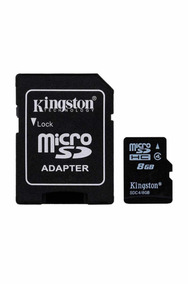 Cartão De Memória 8 Gb Kingston Micro Sd Original