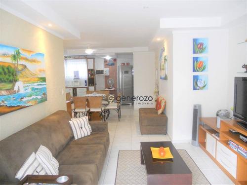 Apartamento À Venda Em Pitangueiras, 04 Dormitórios, 02 Vagas De Garagem, Lazer No Prédio - Ap0421