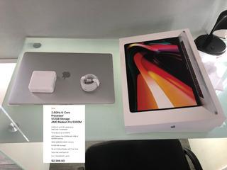 Macbook Pro 16 Pulgadas, 6 Core 16gb 512gb Garantía