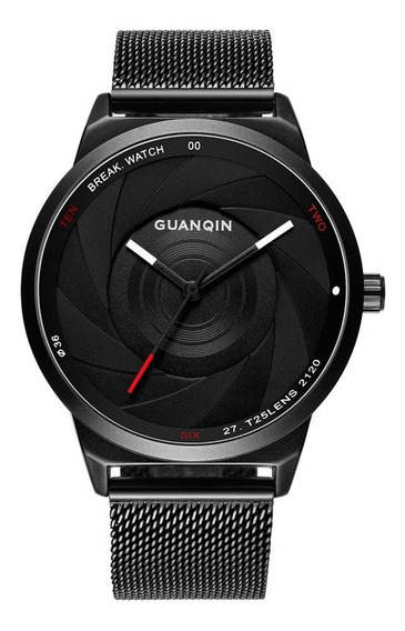 Guanqin Gs19074 Homens Relógio De Luxo Moda Criativa Pulseir