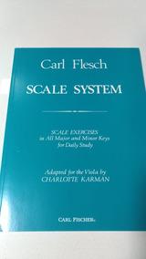 Carl Flesch: Scale System For Viola