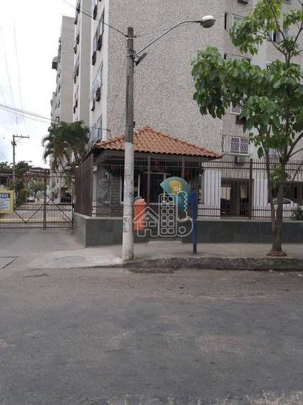 Apartamento Com 2 Dormitórios À Venda, 68 M² Por R$ 200.000 - Porto Novo - São Gonçalo/rj - Ap2801