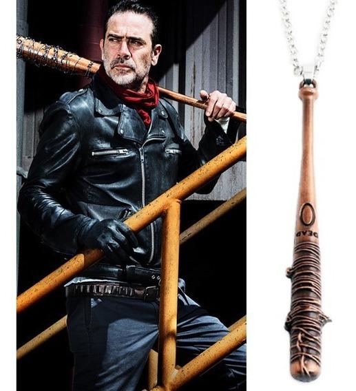 Colar Bastão Negan - The Walking Dead